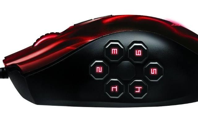 Razer Naga Hex: 250 kliknięć