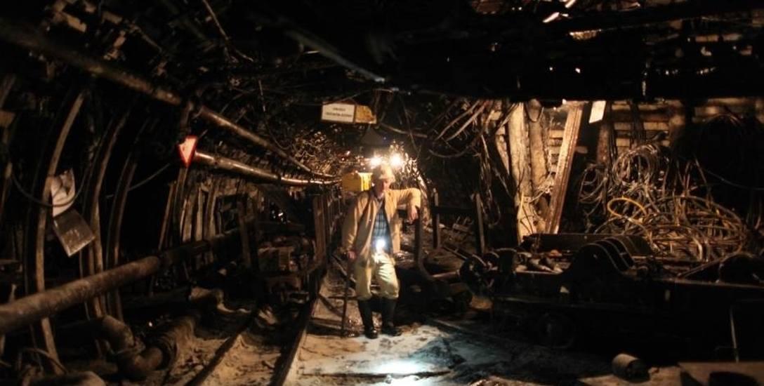 Pracownicy likwidowanej kopalni Krupiński w Suszcu uratowanie zakładu postawili sobie za punkt honoru