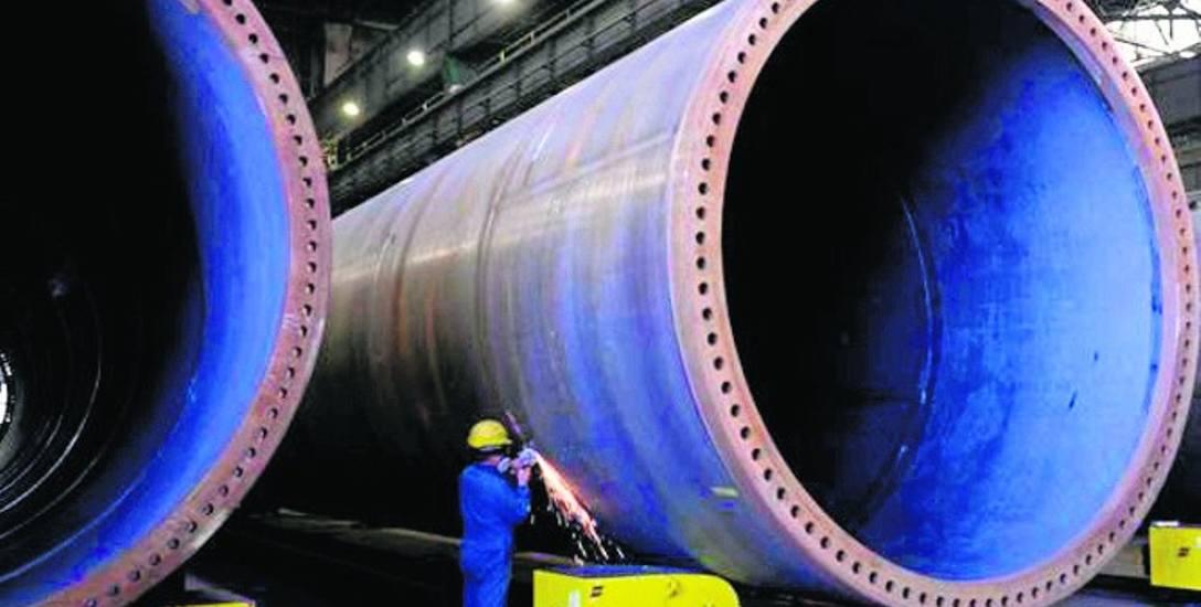 Stocznia Gdańsk i GSG Towers realizują m.in. kontrakty dla firm energetycznych na budowę morskich wież wiatrowych