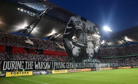 UEFA ukarała Legię za transparent z Powstaniem Warszawskim? Jest decyzja