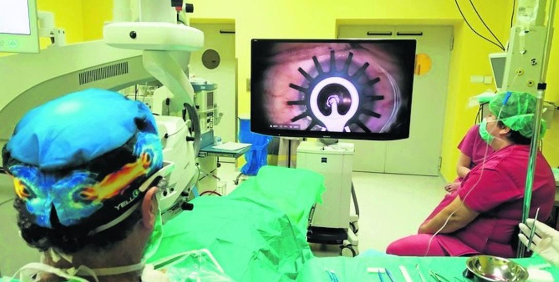 Możliwości urządzenia mogą też podziwiać na sali operacyjnej studenci Wydziału Nauk Medycznych SUM z Zabrza