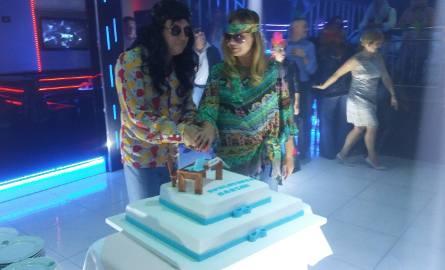 Urodziny prezydenta Piły w stylu hippie i disco