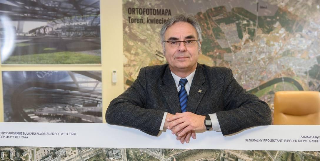 Od lutego Adam Popielewski nie będzie już architektem miasta Torunia.
