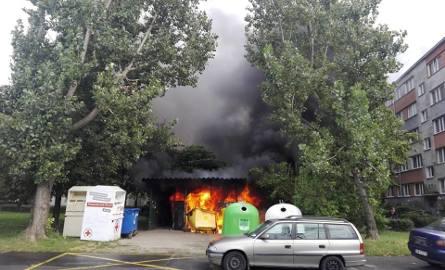 Pożar na Popowicach