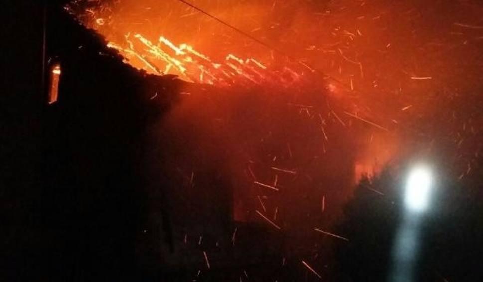 Film do artykułu: Pożar w miejscowości Gabułtów w gminie Kazimierza Wielka