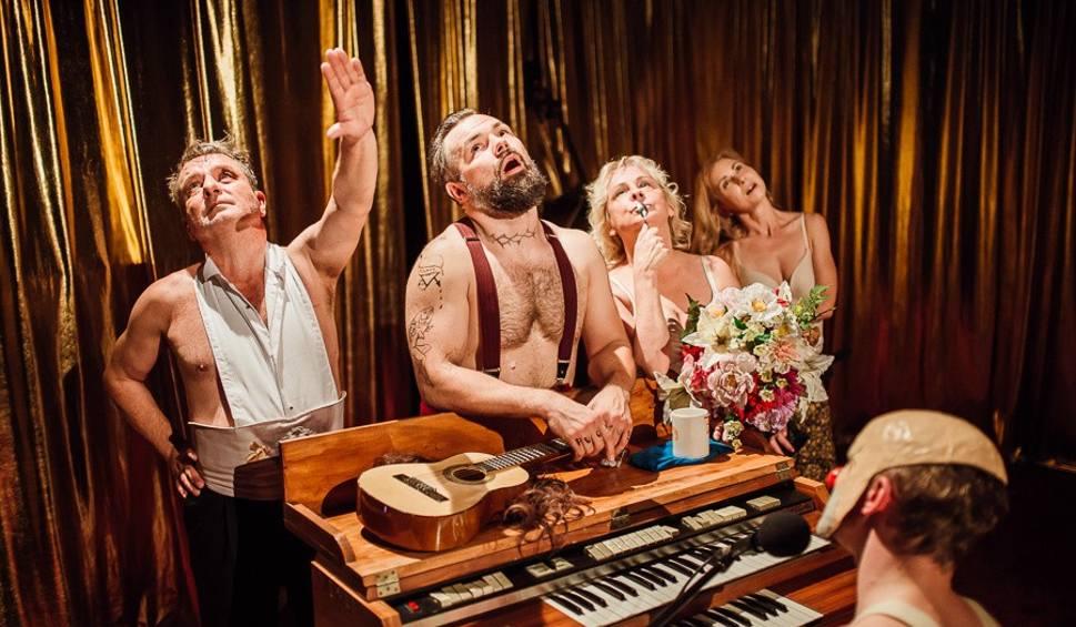 Film do artykułu: Teatr Dramatyczny. Promocja na Śmierć w Wenecji czyli czego najbardziej żałują umierający (zdjęcia)