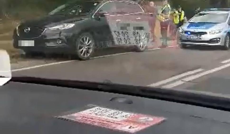 Film do artykułu: Horodnianka. Wypadek na DK19. Na trasie Wasilków - Sokółka zderzyły się dwie osobówki