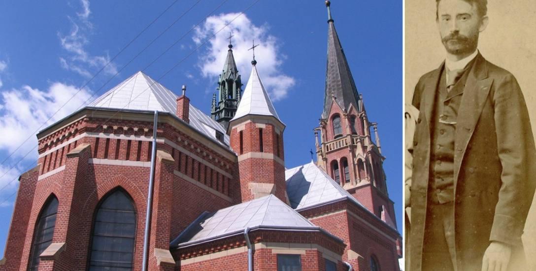 Jeden z kościołów zaprojektowanych przez Teodora Talowskiego stoi w Bóbrce
