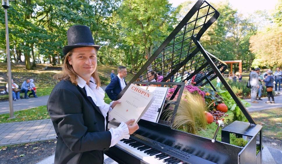 Film do artykułu: Świnoujście: Kwiatowy fortepian w Parku Chopina [ZDJĘCIA]