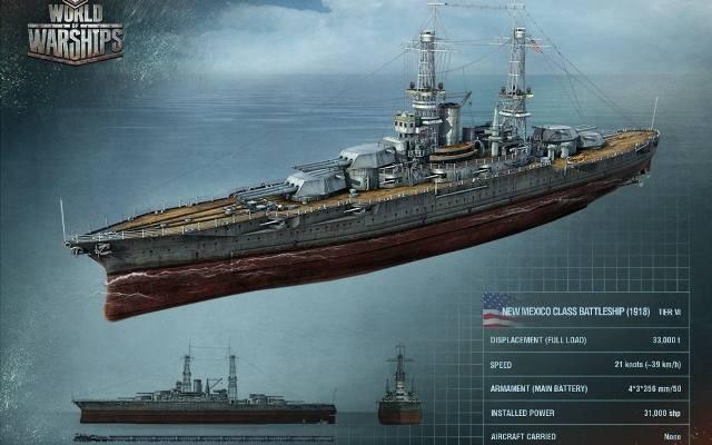 World of Warships: Pancernik zawsze się przyda [galeria]
