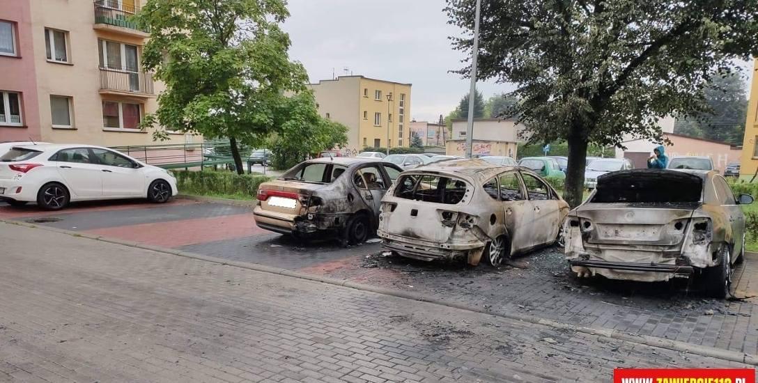 Monitoring pomógłby wyjaśnić, kto podpalił trzy samochody