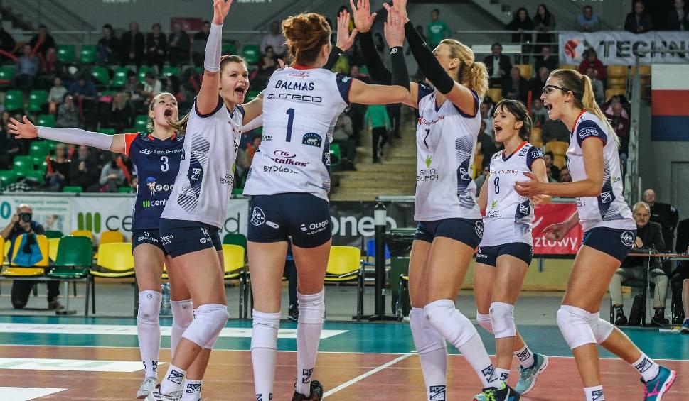 Film do artykułu: Bank Pocztowy Pałac Bydgoszcz wygrał pierwszy mecz [zdjęcia]