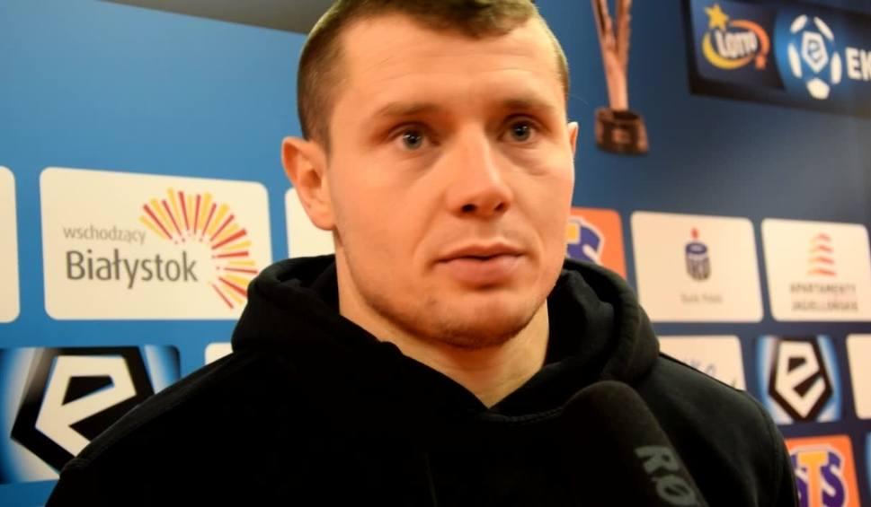 Film do artykułu: Patryk Tuszyński po meczu Jagiellonia - Zagłębie: Widać, że pod wodzą Bena zrobiliśmy spory progres