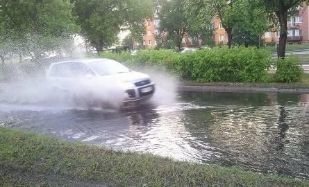 Zalana ulica Magnuszewska