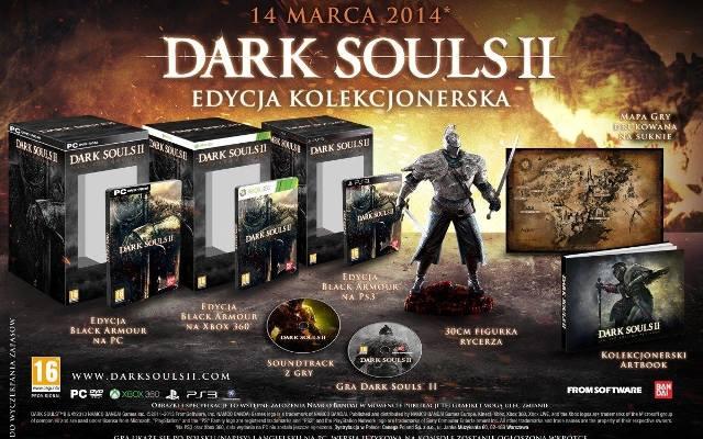 Dark Souls II: Edycja Kolekcjonerska z obowiązkową figurką
