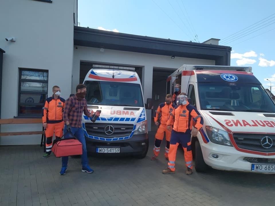 Pomoc dla ratowników  w Ostrowi Mazowieckiej