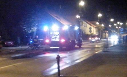 Mężczyzna zginął w pożarze w centrum miasta (zdjęcia)