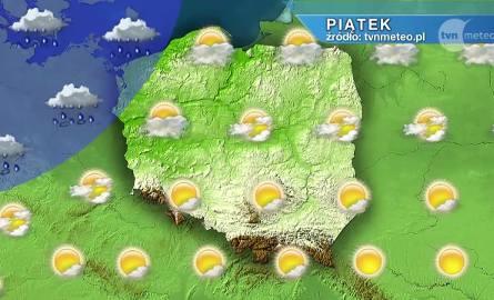 W weekend (niestety) zmiana pogody