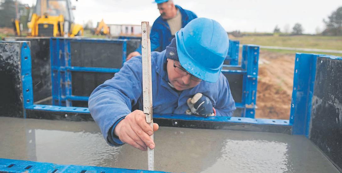 Przemysław Wasiela i Eugeniusz Zawadzki na zlecenie PGNiG budowali trzy lata temu odwiert gazu koło Ołoboku. Na podobną inwestycję Babimost i Kargowa