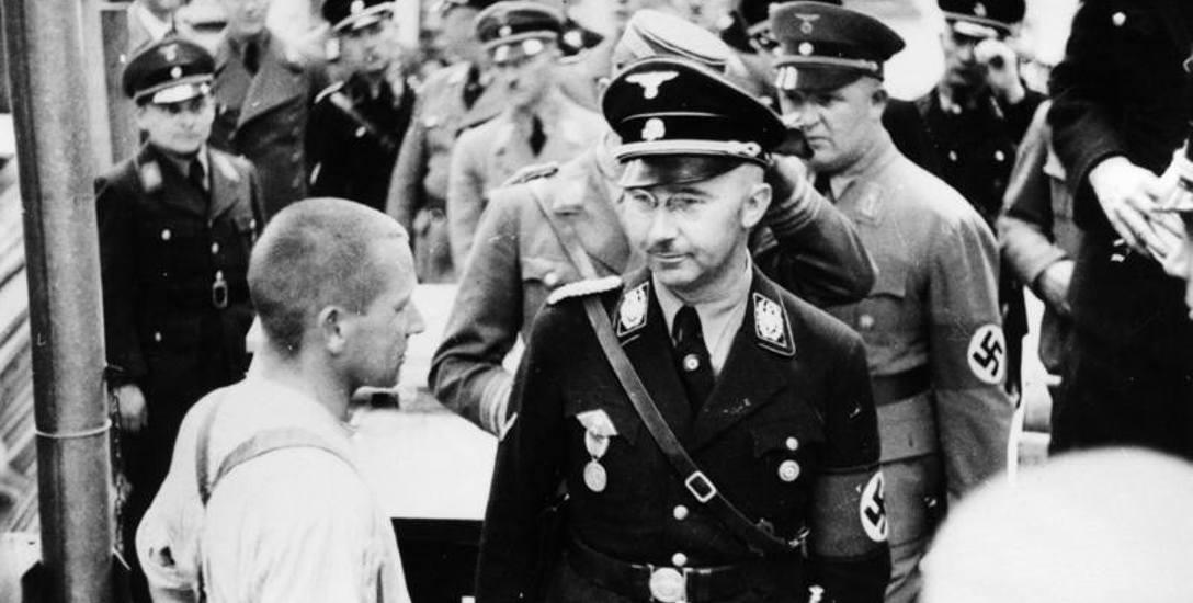 Himmler wizytuje obóz koncentracyjny w Dachau, 1936