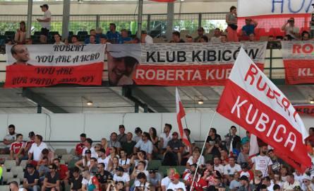 Kubica mógł liczyć na wsparcie polskich kibiców