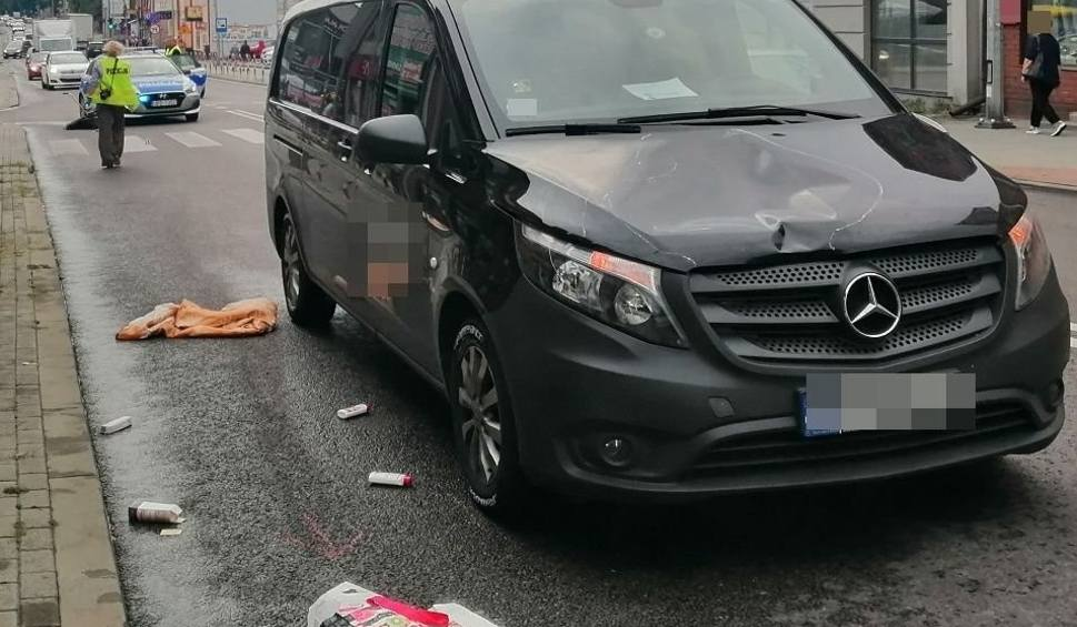 Film do artykułu: Dwa niebezpieczne zdarzenia drogowe w Tomaszowie Lubelskim