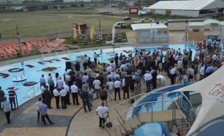 Otwarcie nowych basenów w Uniejowie