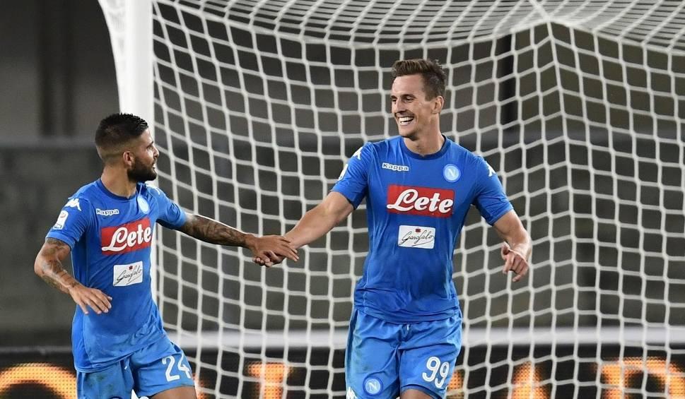 Film do artykułu: Liga włoska. Milik trafił do siatki. Pewne zwycięstwo Napoli, 90 minut Zielińskiego