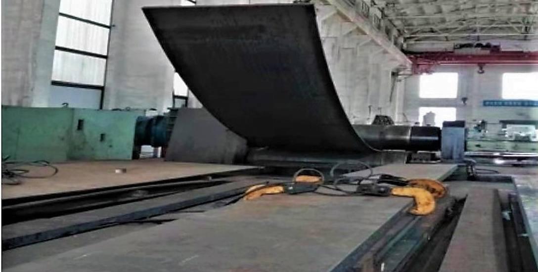 Na razie powstają elementy składowe maszyny, która już w przyszłym roku ma dotrzeć z Chin, na barce do świnoujskiego portu