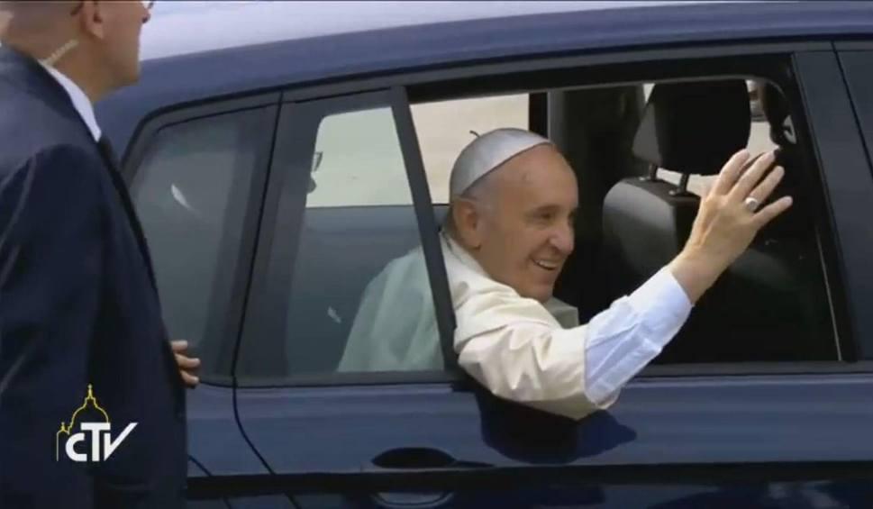 Film do artykułu: Dokładnie rok temu Franciszek wylądował w Krakowie!  [ROK PO ŚDM]