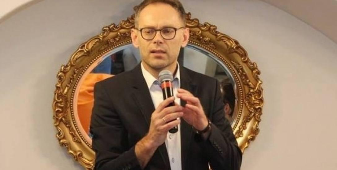 Konrad Antkowiak, burmistrz miasta i gminy Wschowa