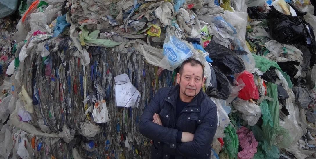 Recykling to biznes, który nie pachnie miło, ale w Rychnowie daję pracę ponad 200 osobom - mówi Trejderowski.