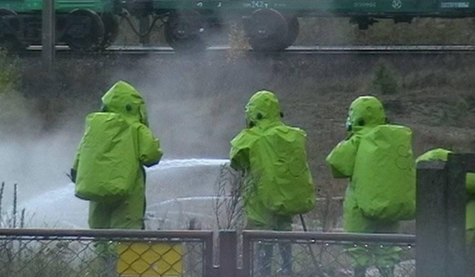 Film do artykułu: Wyciek chemikaliów w Gniewięcinie. Ewakuowano pięć rodzin
