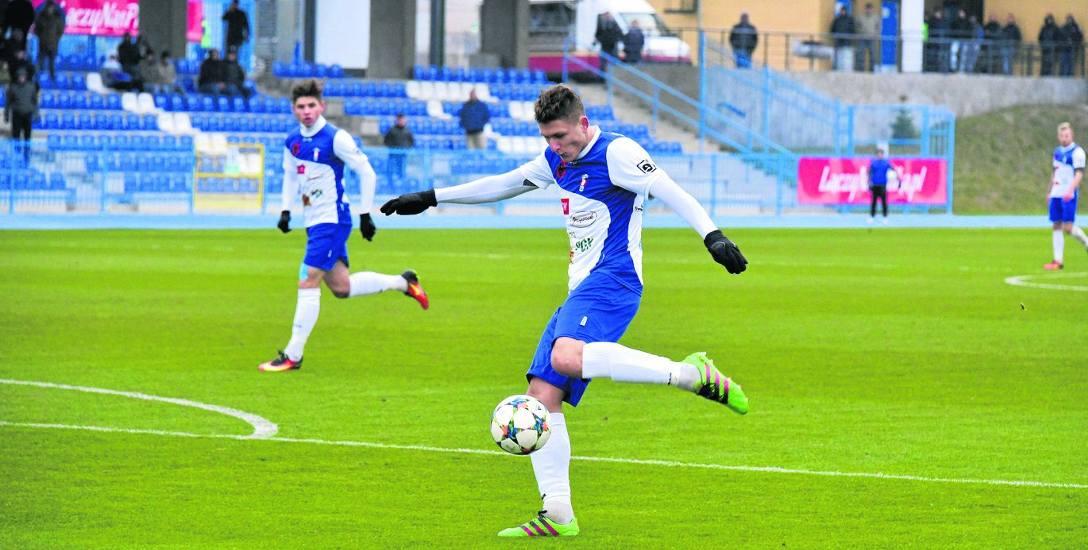 Fabian Piasecki w tym sezonie jest najskuteczniejszym strzelcem Olimpii (13 goli). Napastnik raczej odejdzie z klubu.