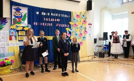 Polskie dzieci zaprezentowały program artystyczny