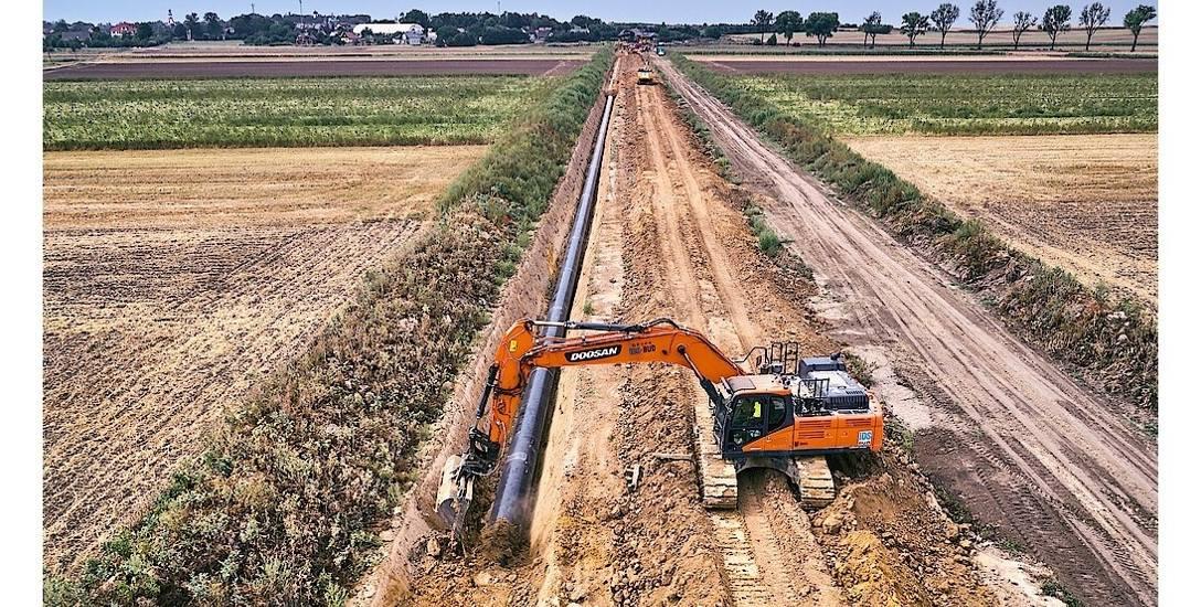 Budowa gazociągu ze Zdzieszowic do Wrocławia