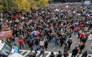 Wielka demonstracja w Gdańsku 24.10.2020! Zablokowane skrzyżowania! Protest kilku tysięcy osób po orzeczeniu Trybunału Konstytucyjnego