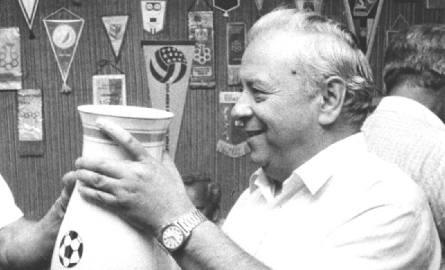 Ludwik Sobolewski, legendarna postać Widzewa