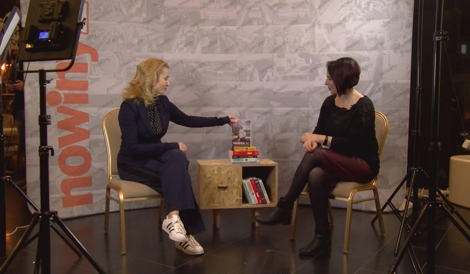 """Film do artykułu: Czy Joanna Brodzik chciałaby wrócić na plan """"Magdy M.""""? Rozmowa nie tylko o książkach"""