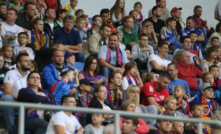 Piast Gliwice grał dziś z Koroną Kielce. Mecz oglądało na stadionie 4879 widzów.