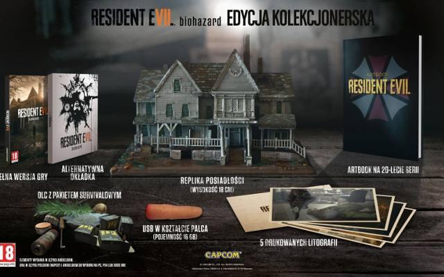 Resident Evil 7: Biohazard. Edycja kolekcjonerska z odciętym palcem