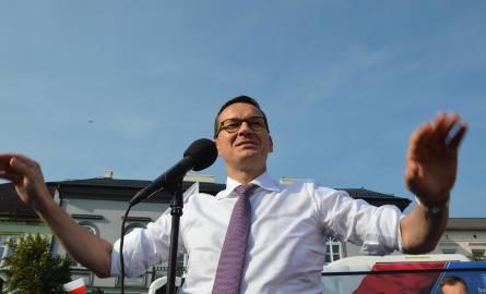 Premier Mateusz Morawiecki 16 lipca odwiedzi województwo łódzkie
