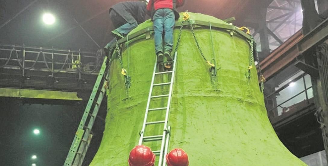 Największy dzwon świata tworzą Ślązacy. Dla Brazylii