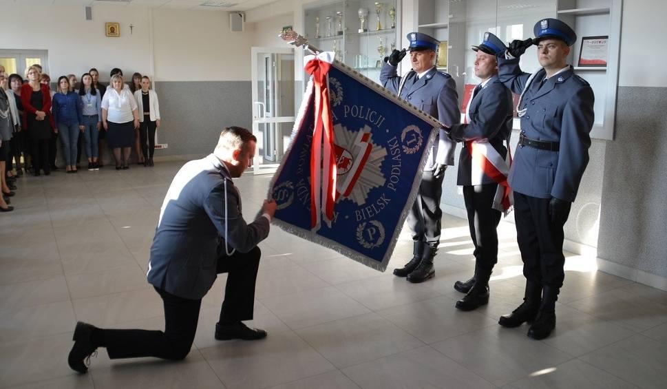 Film do artykułu: Mł. insp. Maciej Wesołowski nowym komendantem policji w Bielsku Podlaskim (zdjęcia)
