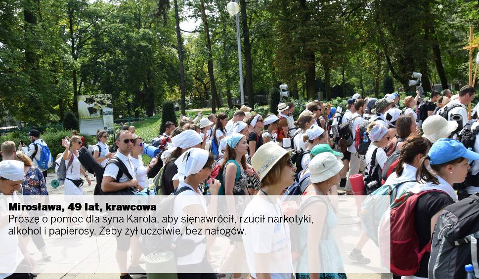 Film do artykułu: O co modlą się Polacy? Oto autentyczne intencje pielgrzymów idących na Jasną Górę