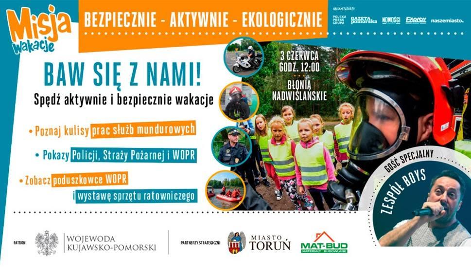 Film do artykułu: Misja Wakacje - piknik rodzinny na Błoniach Nadwiślańskich w Toruniu
