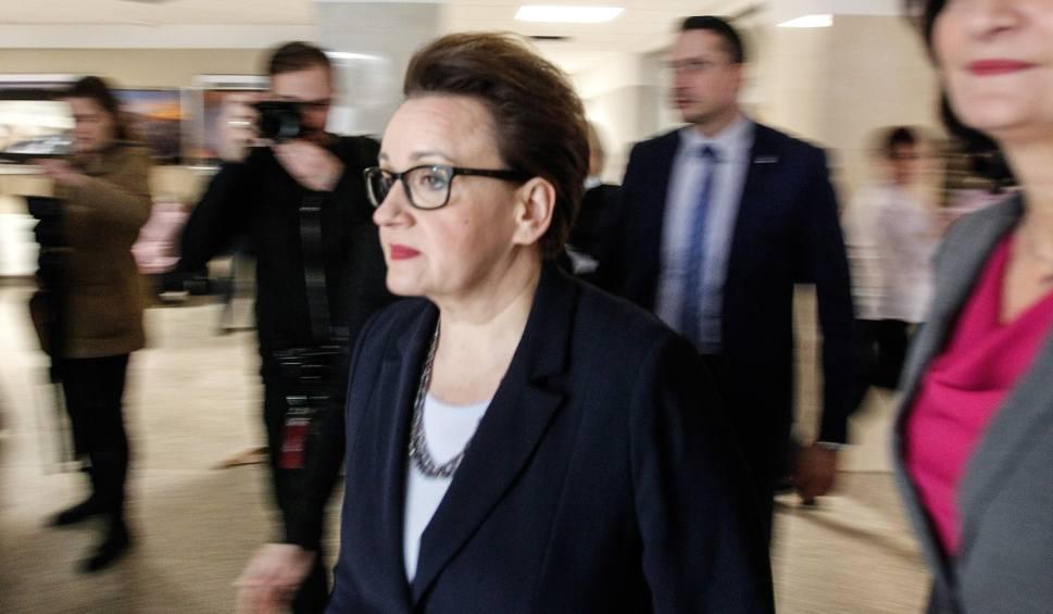 Film do artykułu: Minister Anna Zalewska w Rzeszowie: nie będzie zwolnień nauczycieli