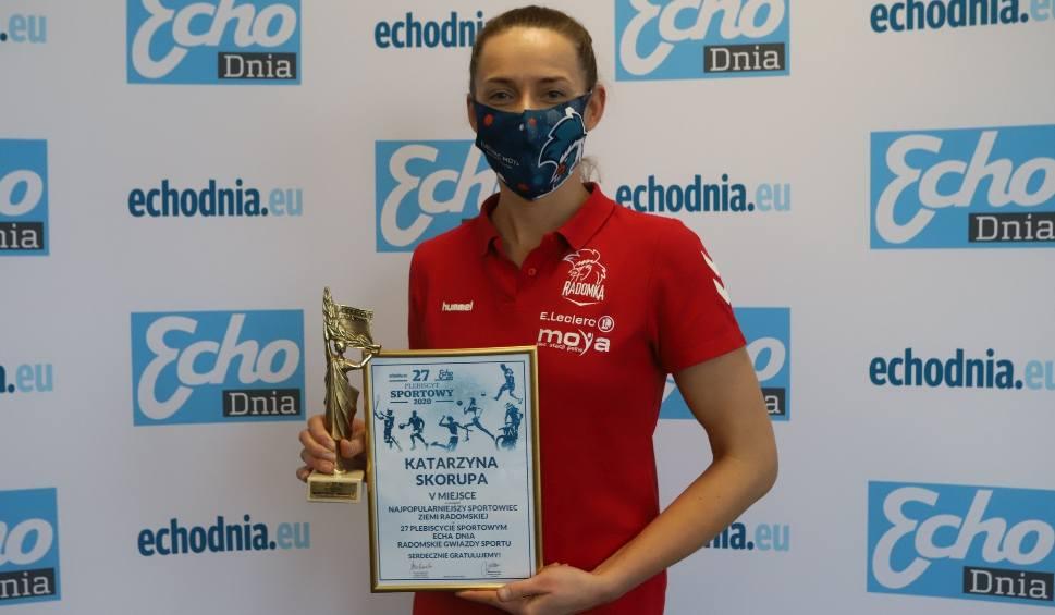 Film do artykułu: Katarzyna Skorupa zajęła piąte miejsce w plebiscycie sportowym. - To nagroda dla całej drużyny - powiedziała (WIDEO)