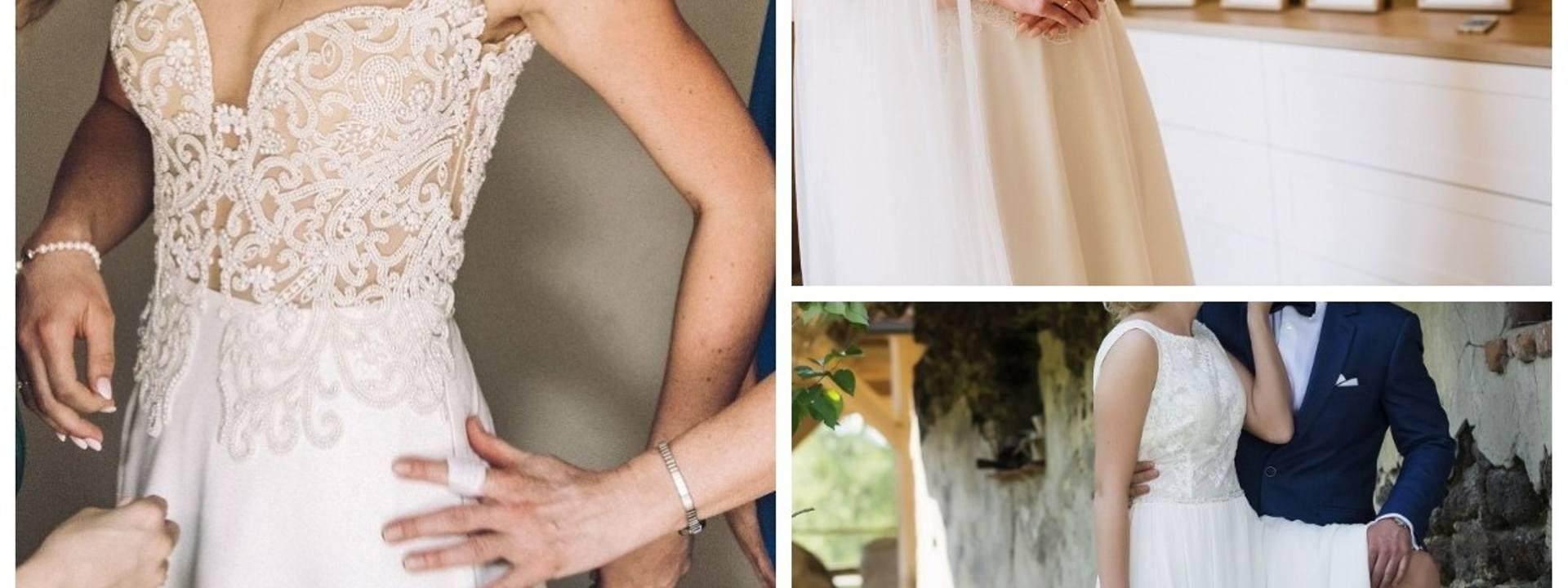 Przygotowaliśmy 14 ofert sukni ślubnych na sprzedaż z portalu gratka.pl. Przedział cenowy obejmuje suknie od 70 złotych do ponad 5 tysięcy złotych. Zobacz