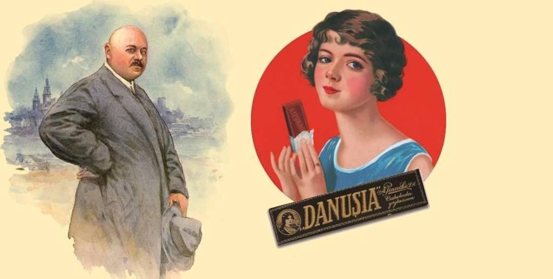 """Przedsiębiorca Adam Piasecki i karmelarka Danusia. Oraz  pierwsza czekoladka grylażowa """"Danusia"""""""